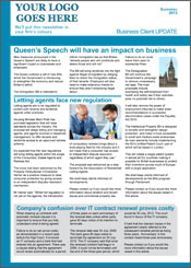 Sample 2pg Business Newsletter