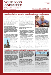 Sample 2page Business Newsletter