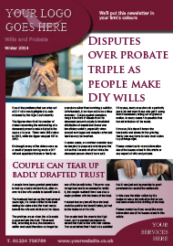 Sample Wills and Probate Newsletter