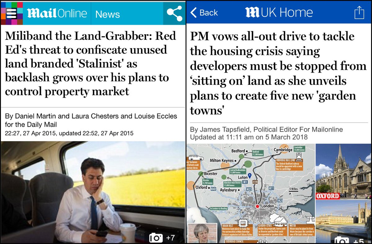 Daily Mail double standards on housing