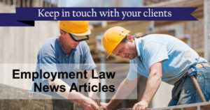Employment Law News Articles