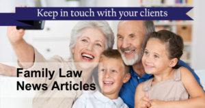 Family Law News Articles
