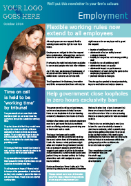 Sample Employment Newsletter