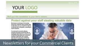 Newsletter commercial clients