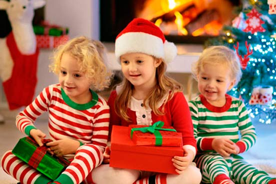 Divorced couples put children first at Christmas